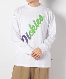 Dickies/プリントハイネックL/S-Tシャツ/503295512