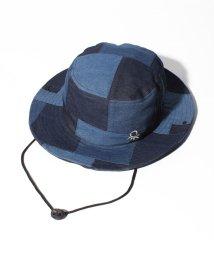 BENETTON (mens)/UV加工パッチワーク風ひも付きサーフハット・帽子/503304537