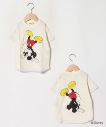 Love&Peace&Money/【DISNEY】 Dance Mickeyデザイン TEE/503311356