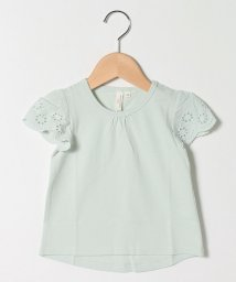 LAGOM/【lagom】袖レースTシャツ/503317661