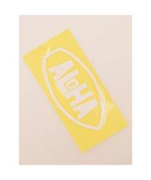 KAHIKO/【kahiko】Hawaiian Sticker ボードアロハ ホワイト/503327073