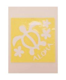 KAHIKO/【kahiko】Hawaiian Sticker ホヌ&プルメリア ホワイト/503327113
