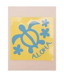 KAHIKO/【kahiko】Hawaiian Sticker ホヌ&プルメリア ブルー/503327114