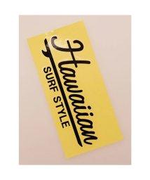 KAHIKO/【kahiko】Hawaiian Sticker サーフスタイル ブラック/503327116
