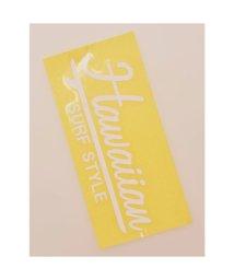 KAHIKO/【kahiko】Hawaiian Sticker サーフスタイル ホワイト/503327117