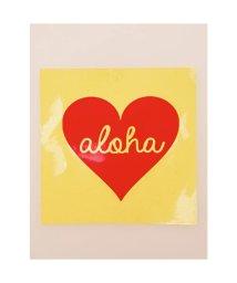 KAHIKO/【kahiko】Hawaiian Sticker ハートアロハ レッド/503327119