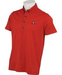 le coq sportif GOLF/シティハイゲージジャガード半袖シャツ/503328589