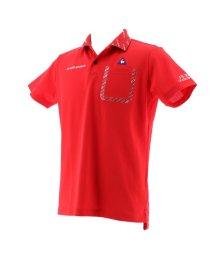 le coq sportif GOLF/8bitロゴプリントカラー半袖シャツ/503328592