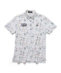 le coq sportif GOLF/サンスクリーンスプラッシュプリント半袖シャツ/503328599
