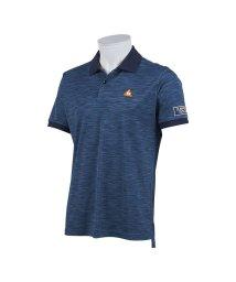 le coq sportif GOLF/マルチカラーメランジバックプリント半袖シャツ/503328602