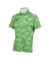 le coq sportif GOLF/サンスクリーンランダムフェスプリント半袖シャツ/503328603