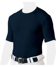 ZETT/クルーネックハンソデアンダーシャツ/503329576