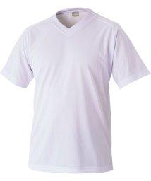 ZETT/ベースボールVネックTシャツ/503329614