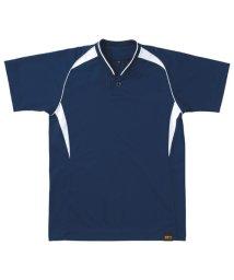 ZETT/JRプルオーバーベースボールシャツ/503329620
