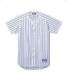 ZETT/ストライプメッシュユニフォームシャツ/503329802