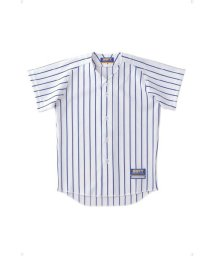 ZETT/ジュニアストライプメッシュユニフォームシャツ/503329803