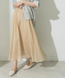 URBAN RESEARCH/シャイニーギャザースカート/503330861