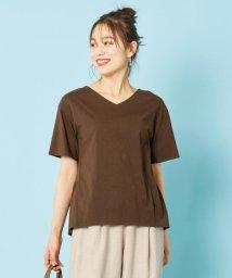 any SiS S/【汗ジミが目立ちにくい】サラコントロールジャージー  Aライン Tシャツ/503331425