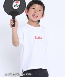 coen/【coen キッズ / ジュニア】I THINK ロゴプリントTシャツ(ロゴT)/503314767