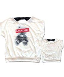 NEXT WALL/「230-00」キッズ Tシャツ プルオーバー 子供服 ノースリーブ 女の子 ガールズ ティーシャツ プリン/503328451