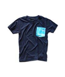 NEXT WALL/「330-00.01」キッズ Tシャツ 子供服 半袖 男の子 ボーイズ ティーシャツ プリント ロゴ ポケット/503328457