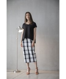 Emma Taylor/GINGHAM CHECH TIGHT SKIRT/503331855