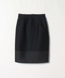 LANVIN COLLECTION/ドット織りタイトスカート/502870916