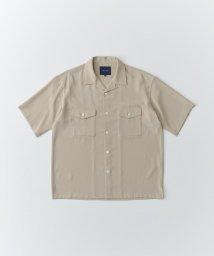 SHARE PARK /ダブルポケット半袖オープンカラーシャツ/503334089