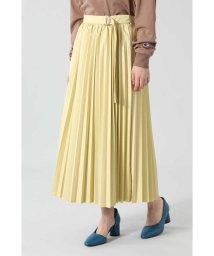 ROSE BUD/フェイクレザープリーツスカート/503334367