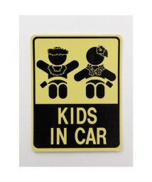 KAHIKO/【Kahiko】-HAWAIIAN STICKER- KIDS IN CAR イエロー/503328121