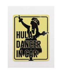 KAHIKO/【Kahiko】-HAWAIIAN STICKER- HULA DANCER IN CAR イエロー/503328123