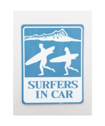 KAHIKO/【Kahiko】-HAWAIIAN STICKER- SURFER IN CAR ブルー/503328124
