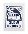 KAHIKO/【Kahiko】-HAWAIIAN STICKER- DRIVE SLOW ネイビー/503328126