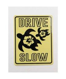 KAHIKO/【Kahiko】-HAWAIIAN STICKER- DRIVE SLOW イエロー/503328127