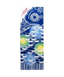 KAYA/【カヤ】大鯉手ぬぐい ネイビー/503331198