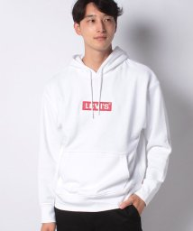 LEVI'S MEN/RELAXED GRAPHIC HOODIE BOXTAB PO WHITE G/503291603