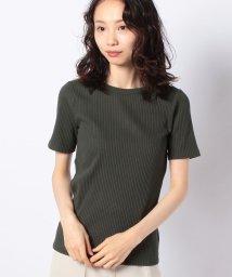 Rename/【Rename/リネーム 】クルーネックリブTシャツ /503293584