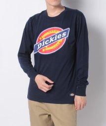 Dickies/CVC天竺DickiesビッグロゴプリントL/S-Tシャツ/503295485