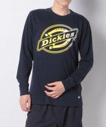 Dickies/CVC天竺DickiesビッグロゴプリントL/S-Tシャツ/503295486