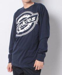 Dickies/ムラサキスポーツ別注BIGロゴプリントTシャツ/503295492
