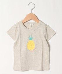 LAGOM/【lagom】パイナップルチュールTシャツ/503322598