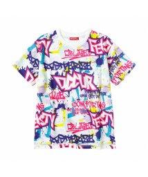 MAC HOUSE(kid's)/Simplify シンプリファイ ボーイズ 総柄ビッグTシャツ N25123MM/503335113