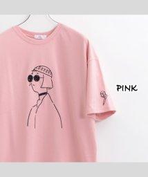 1111clothing/ビッグtシャツ メンズ ビッグシルエット レディース tシャツ 半袖 ビッグシルエットtシャツ 半袖tシャツ 刺繍 tシャツ ゆったり 大きめ オーバーサイズ /503336387