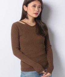 FEMIND TOKYO/カッティングリブKNIT/502976498