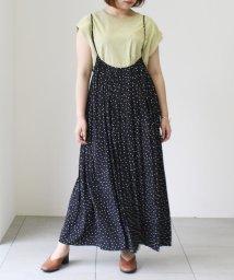 UNRELISH/サテンジャンパースカート/503125497