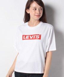 LEVI'S LADY/GRAPHIC BOXY TEE BOX TAB PUFF WHITE+ GRA/503291760