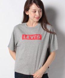 LEVI'S LADY/GRAPHIC BOXY TEE BOX TAB PUFF SMOKESTACK/503291761