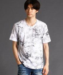 HIDEAWAYS NICOLE/アニマル柄プリントTシャツ/503316455