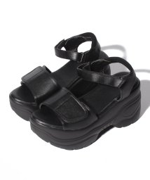 Shoes in Closet/☆超軽量☆厚底プラットフォーム!! ベルクロサンダル《約9.0cmソール※傾斜は約2cm》/503327845