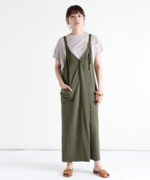 LASUD/[RADIATE] 【手洗い可】ベルトデザイン ジャンパースカート/503335280